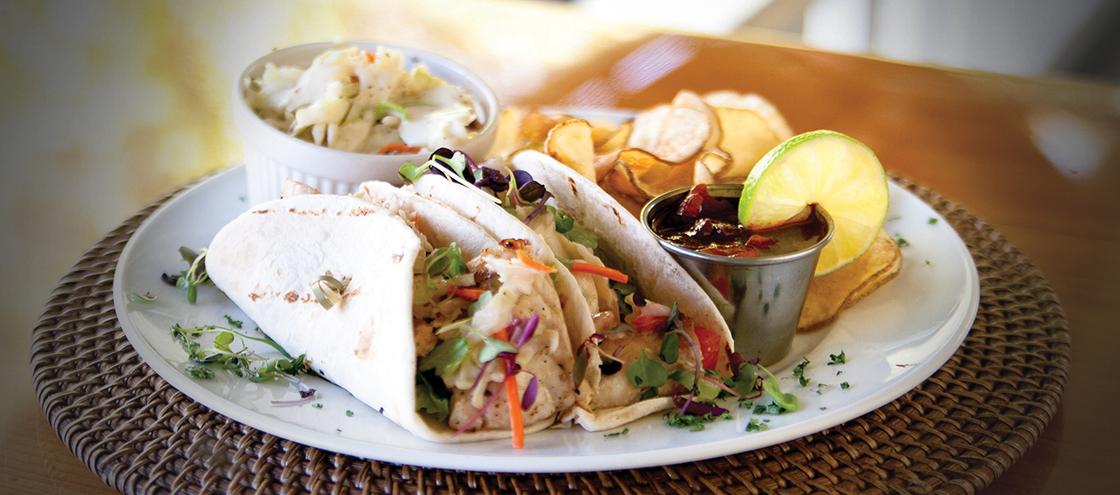 Island Favorite - Snapper Tacos